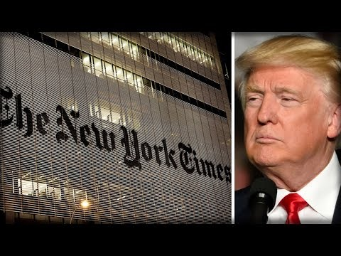 THEY WON'T QUIT! NYT AMPLIFIES WAR ON TRUMP WITH 3 INSANE LIES THEY WANT AMERICA TO BELIEVE
