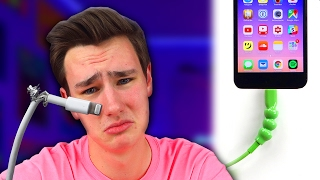Ever broke a iPhone 7 cable or any phone cable? It'll never happen again with this! LAST VID ► The Mini $128 Mac Pro https://youtu.be/xmmDKb_LOH0?list=PLPCx-...