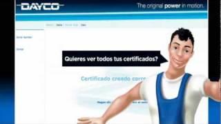 Garaje Virtual Dayco (Español)