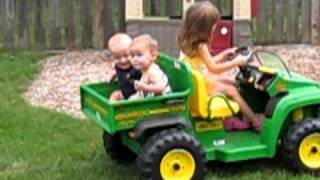 10. Avery Leah Harrison Gator ride