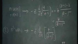 Lecture - 41 Discrete - Time Systems (4)