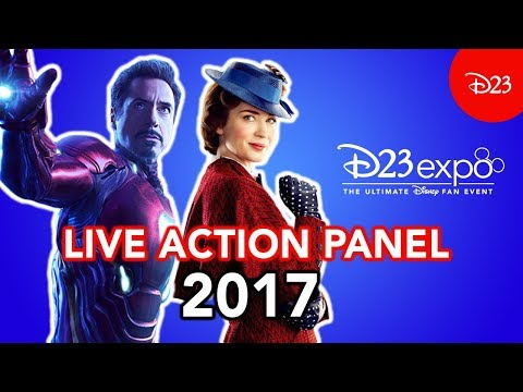 Disney Live Action at D23 Expo