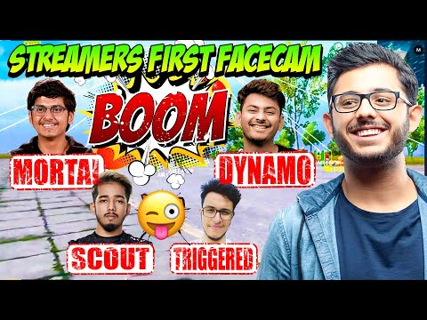 Indian Youtubers First FaceCam Video - Dynamo, Mortal, Carry, Triggered, Mythpat, Mavi, Jonathan.
