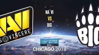 Na`Vi vs BiG - IEM Chicago 2018 - map1 - de_dust2 [CrystalMay & Smile]