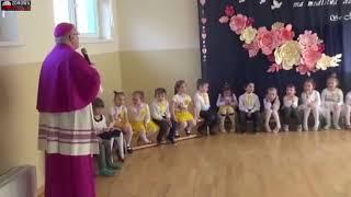 Wizytacja biskupa Mendyka w przedszkolu w Rudnej…