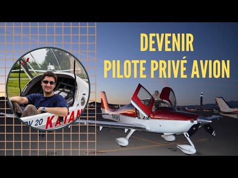 Comment DEVENIR PILOTE PRIVÉ AVION ?