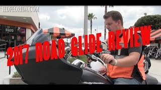 6. 2017 Harley Davidson Road Glide Review - NO BS!!! True first Impression