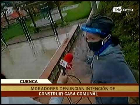 Moradores denuncian intención de construir casa comunal