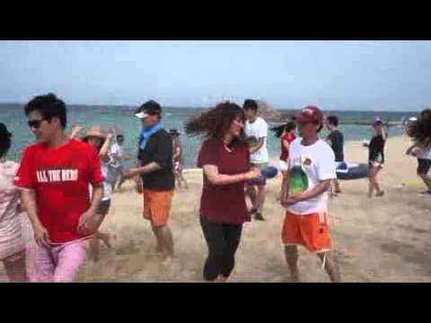 West Coat Swing Korea- International Flash Mob 2015 (видео)