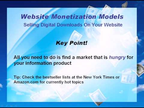 How To Make Money Online – 4 Proven Website Business Models, Part 4 – How To Build Residual Income
