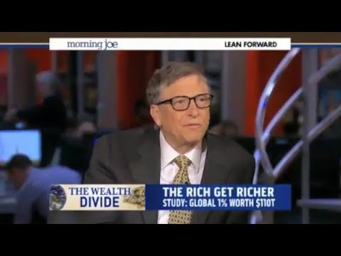 Bill Gates: 'If You Raise The Minimum Wage You're Encouraging Labor Substitution'