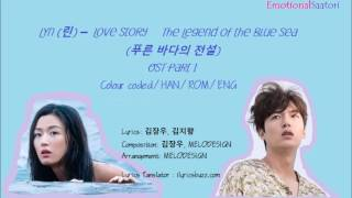 Love story - Lyn The Legend of the Blue Sea ost part 1 lyrics Video