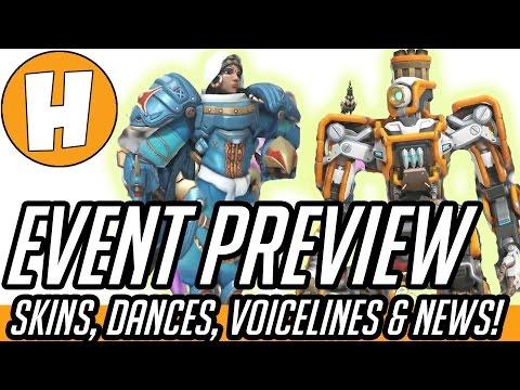 Overwatch Dance Emote, New Skin + Voice Line Previews! (Overwatch Anniversary News)   Hammeh