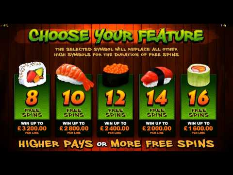 So Much Sushi Slot Games Review M88 Online Casino by Microgaming