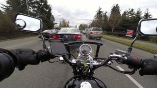 3. 2006 Honda Rebel 250 POV Ride