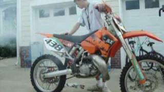 10. KTM 2005 200 SX Break in