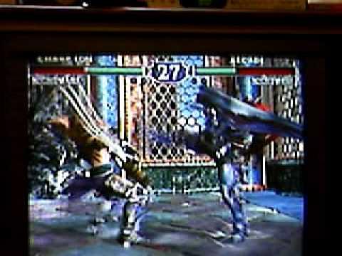preview-Soul Calibur II (NGC) Nightmare Vs Nightmare (Kwings)