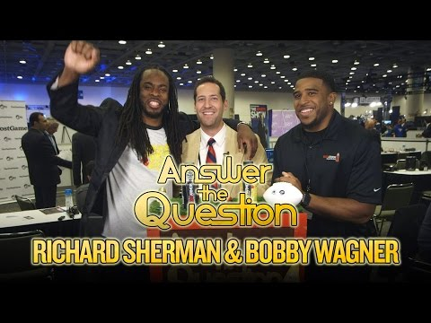 Video: 2016 Super Bowl: Richard Sherman and Bobby Wagner compete against each other in trivia