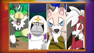 UK: Version-exclusive Pokémon and New Features Revealed in Pokémon Sun and Pokémon Moon! by The Official Pokémon Channel