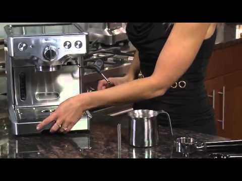 Video Breville 800esxl 15 bar triple priming die cast espresso machine