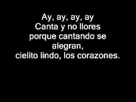 Divididos - Cielito Lindo (Con Letra)