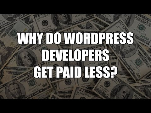 Episode 061: Why do WordPress developers get paid less? Podcast