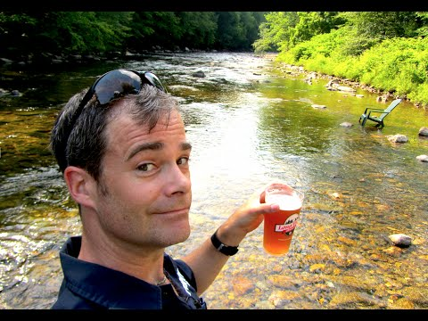 Long Trail Brewing: Drink in a river?