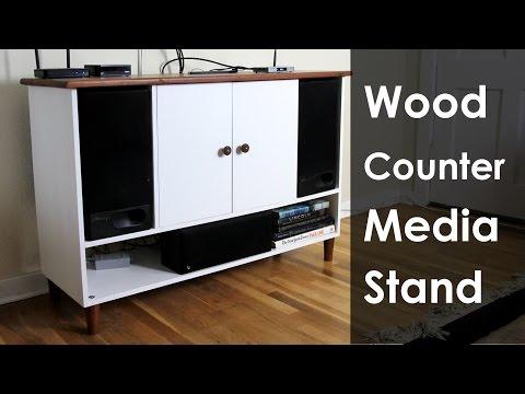 DIY Media Stand