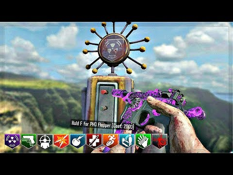 Black Ops 3 Custom Zombies Mod Tools! | Working Phd Flopper & Awesome Test Map!