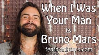 When I Was Your Man - Bruno Mars - Ukulele Tutorial