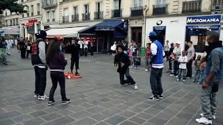 STREET BATTLE Les Twins VS. Bones The Machine+Pee Fly VS. Laura+Boubou | YAK FILMS Video