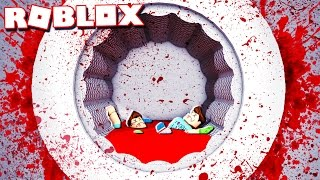 Roblox Adventures - SURVIVE THE DEADLY MURDER WASHER! (Mega Washer)
