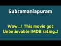 Subramaniapuram  2008 movie  IMDB Rating  Review   Complete report   Story   Cast