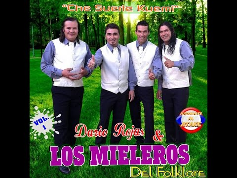 DARIO ROJAS LOS MIELEROS DEL FOLKLORE - POLKAS...!! CD COMPLETO VOL.1