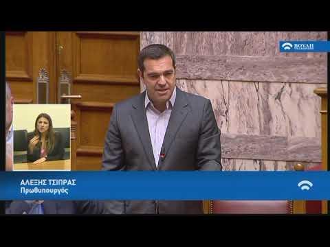 Α.Τσίπρας (Πρωθυπουργός)(Δευτερολογία)(Συνέργειες Πανεπιστημίων και Τ.Ε.Ι)(23/04/2019)