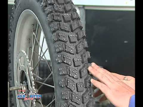 racing tires - This video shows you how to properly install Kold Kutter Ice Racing Screws & Ice Master Tire Liners. If you are interested in any of our Ice Racing Screws or...