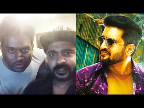 Simbu music in santhanam movie !