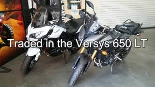 6. 2015 Yamaha FJ 09 first ride with unexpected ending.