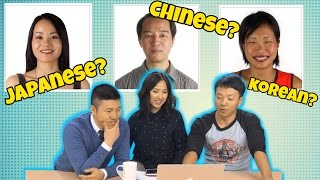 Video How To Tell Chinese, Koreans and Japanese Apart MP3, 3GP, MP4, WEBM, AVI, FLV Oktober 2018