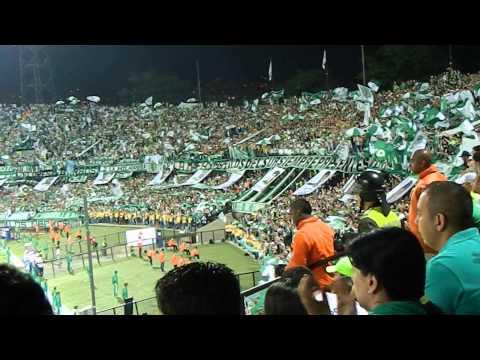 Solo por vos campeón - Los del Sur (Nacional vs Atl. Mineiro) - Los del Sur - Atlético Nacional
