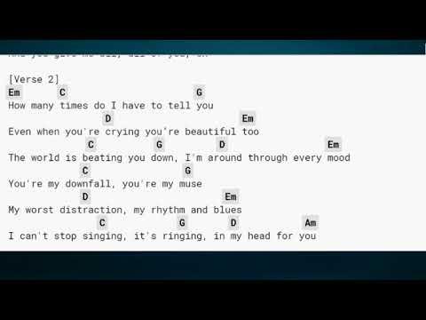 John Legend All Of Me Lyrics And Chords (8.35 MB) - WALLPAPER