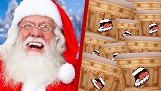 Video 1 PÈRE NOEL vs 100 000 MEUBLES IKEA MP3, 3GP, MP4, WEBM, AVI, FLV Juli 2017