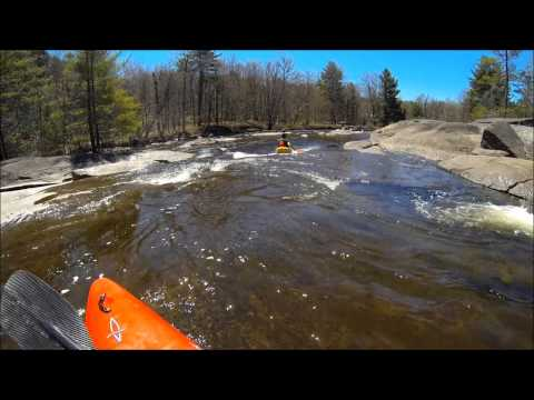 The Miracle Mile white water kayaking (woodhull creek)