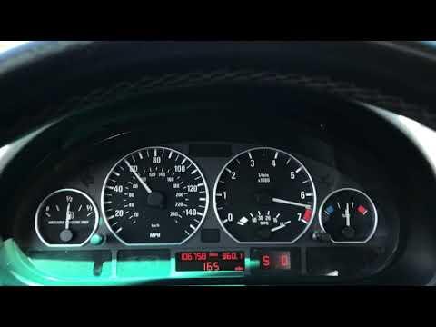 2005 BMW 330i WOT 0-60 (E46 / Auto)