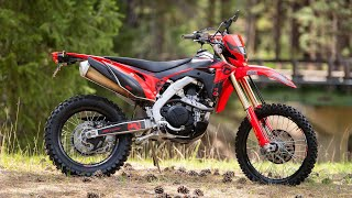 2. Single Track Tested: The 2019 Honda CRF450L with Adam Booth