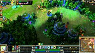 (HD 028) 5c5 demi finale go4lol français part 2 - LoL Replays [FR] -