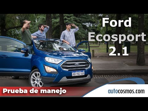 Test Ford Ecosport 1.5L 3 cilindros