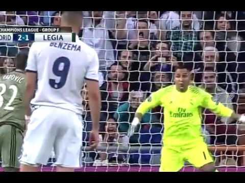 Real Madrid vs Legia Warsaw 5 1 All Goals Highlights 18/10/2016 UCL