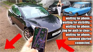 Tesla 'Smart Summon' is EVEN WORSE than you think! Here's why... UN/ECE R79 by Pokemon Cards