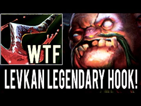 Levkan DOTA 2 [Pudge] WTF Legendary Hook !